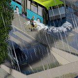 Regenwater veroorzaakt soms schade