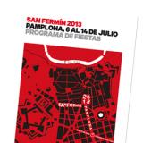 The San Fermin festival program