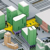Visualisatie Stationsgebied Utrecht 2023