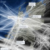 Snelwegen in de lucht
