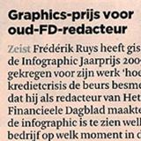 Graphics-prijs voor oud-FD-redacteur