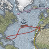 De scheepvaartroutes van de ontdekkingsreizigers